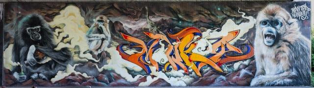 2013-06-06 X100 Graffiti Wiesbaden Tannhäuserstraße 011