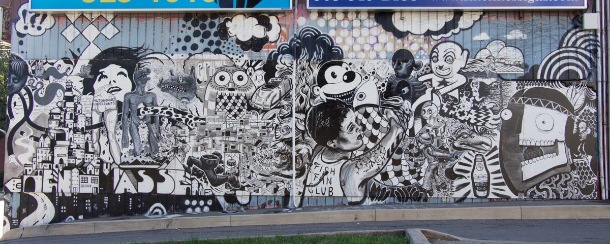 Kanada - Graffiti in Hamilton