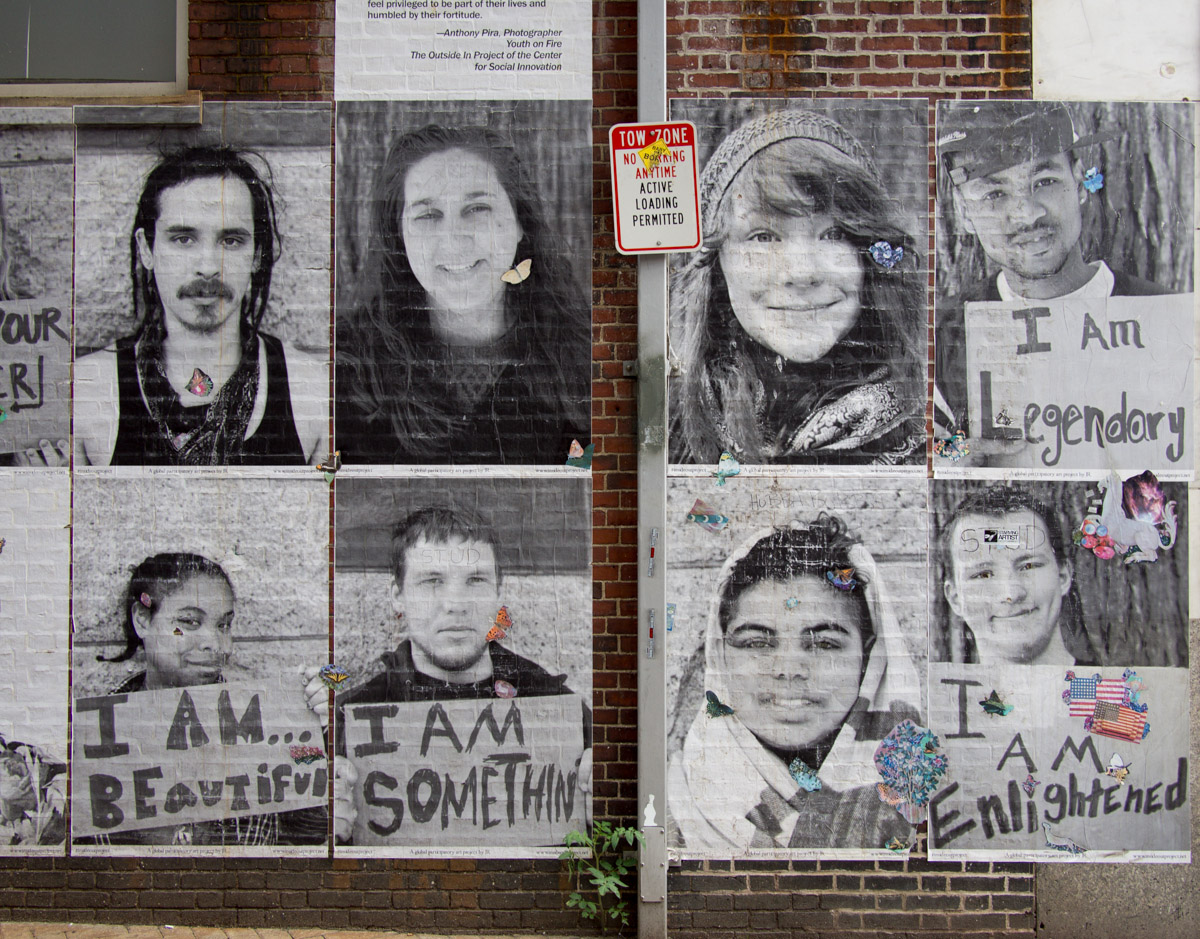 Streetart Projekt in Cambridge