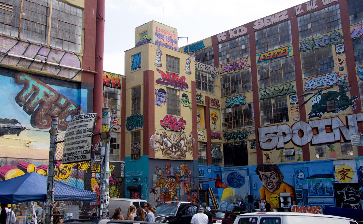 Graffiti New York 5Pointz