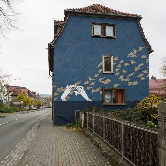 Graffiti Schmalkalden