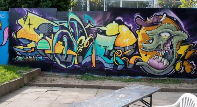 Graffiti Kontext Wiesbaden